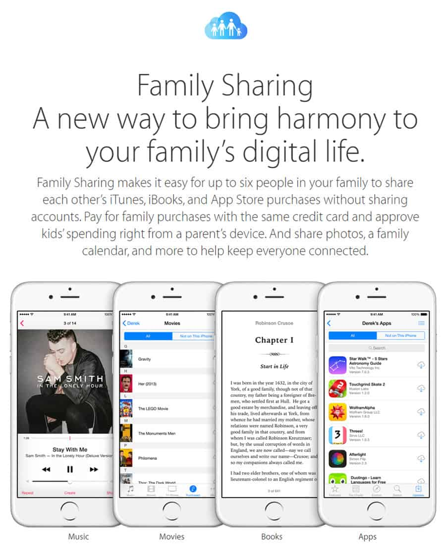Don't share Apple IDs [TIP OF THE DAY] - Noobie