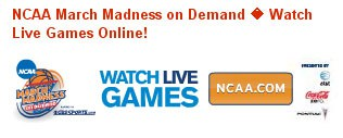 NCAA web site does streaming video right