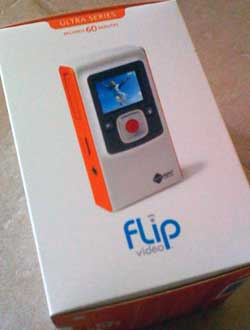 Unboxing the Flip Video Ultra