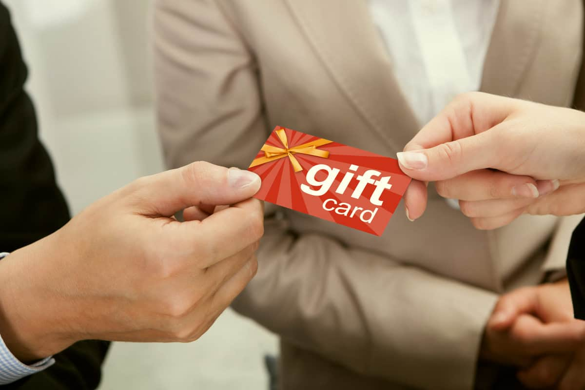 Businessperson Hands Giving Gift Card | How Many Ways Can You Say Happy Birthday to a Techie? | Happy Birthday Techie
