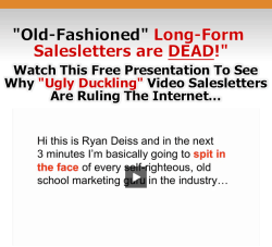 Old-fashioned long-form salesletters are dead [SMALL BIZ NOOBIES]