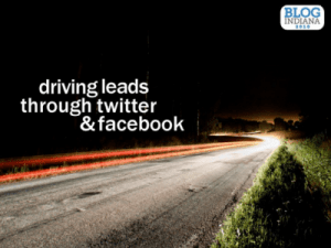 Driving Leads Through Twitter and Facebook