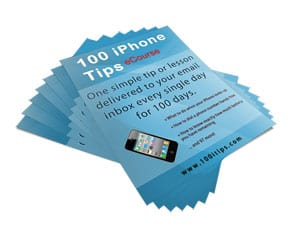 "Learn to Use the iPhone with ""100 iPhone Tips"" Course from Noobie.com"