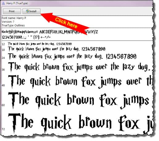 how to make a font permanently in word
