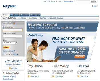how to make an online shop with paypal