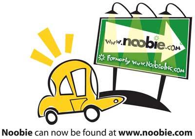 Noobie can now be found at www.noobie.com
