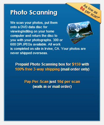 ScanMyPhotos.com Photo Scanning