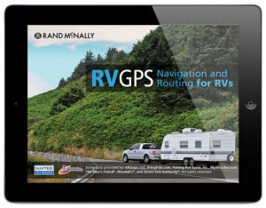 Rand McNally RV GPS app