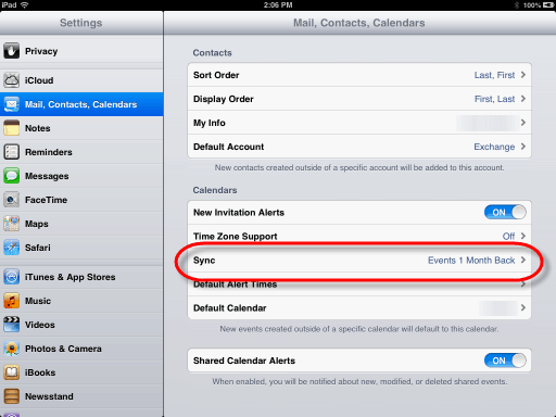 iPad deleted calendar events may not really be deleted