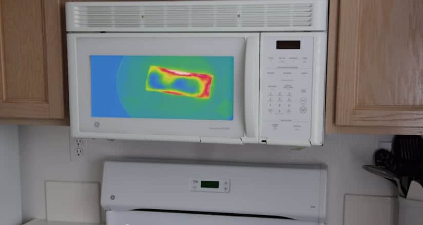 Technology someone else would like to see: a tech-enhanced, heat map microwave