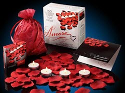Valentine Amore Romantic Gift Set - Bed of Roses