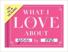 Knock Knock What I Love About You Journal