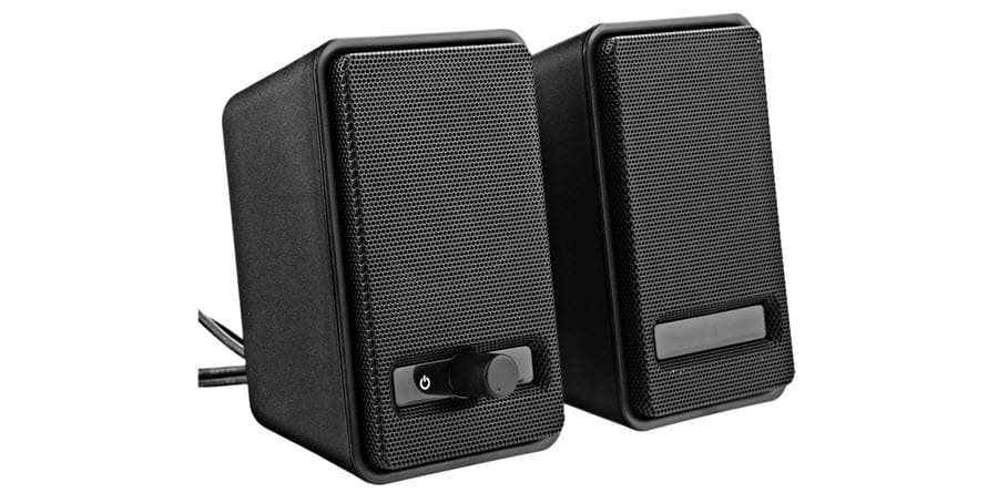 AmazonBasics USB Powered Computer Speakers