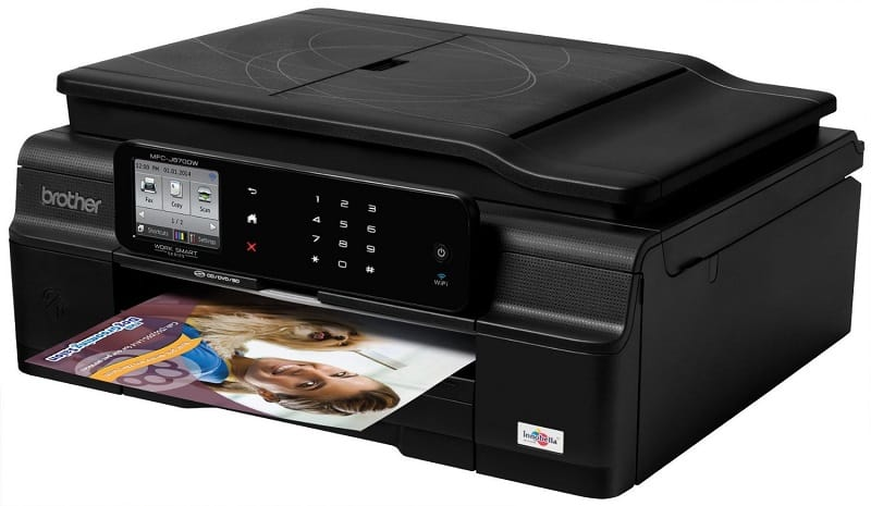 Two unique features make the Brother MFC-J870DW printer a big hit with me