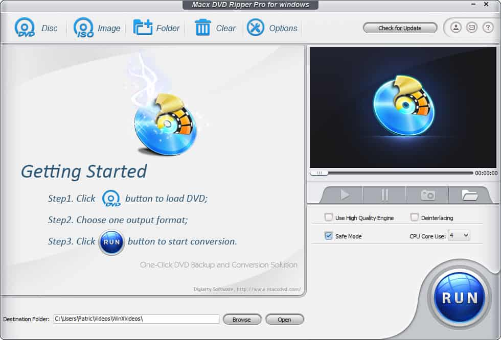 Win a free copy of MacX DVD Ripper Pro for Windows from Noobie!