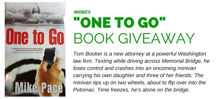 """Win a copy of the book, """"One to Go"""" from Noobie"""