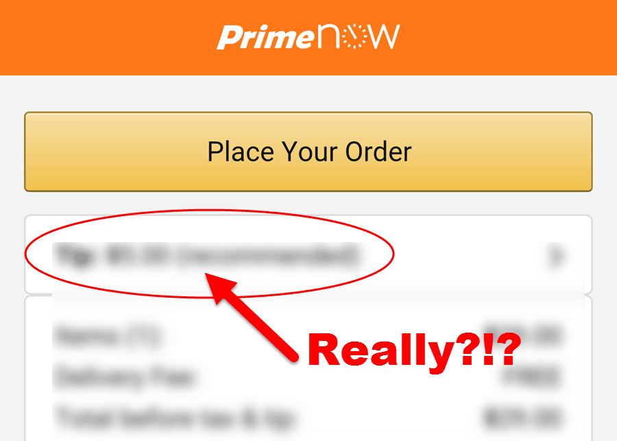 I thought Amazon's Prime Now 2-hour shipping was great until this happened