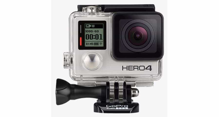 GoPro HERO4 Silver adds 4K video, touch LCD screen
