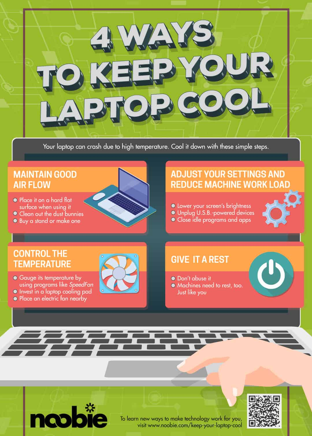 Ways To Keep Your Laptop Cool | Best of 2018 on Noobie