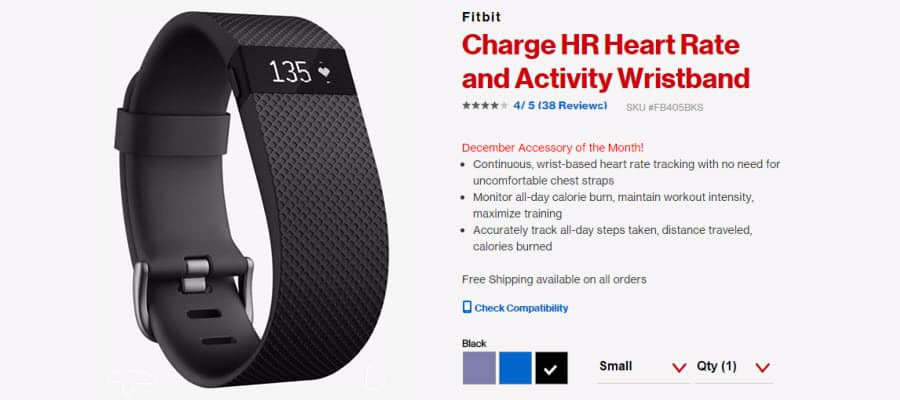 Fitbit Charge HR fixes huge problem, improves another