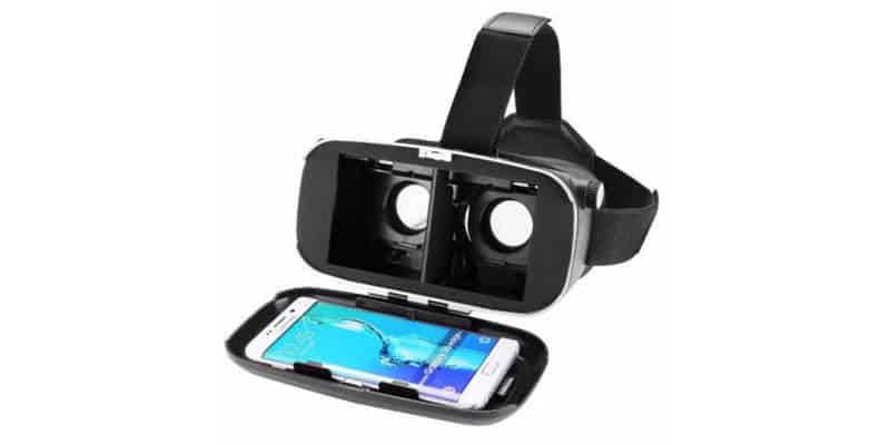 BlitzWolf VR Glasses Virtual Reality Headset - load smartphone