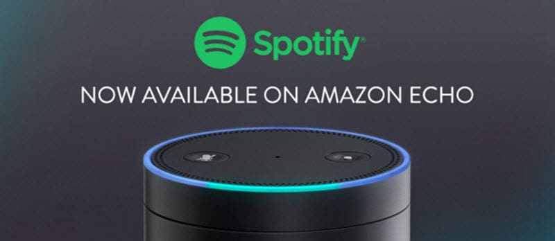 Spotify: Now available on Amazon Echo