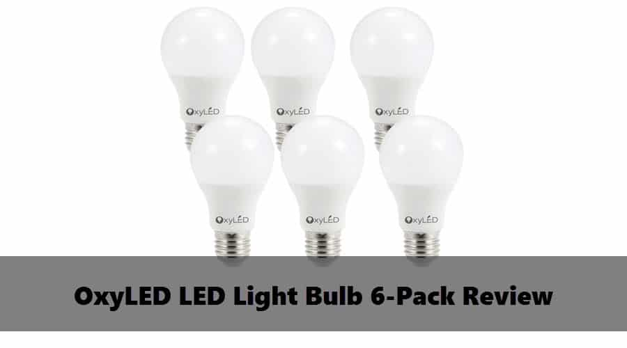Save money with this OxyLED LED Light Bulb 6-Pack