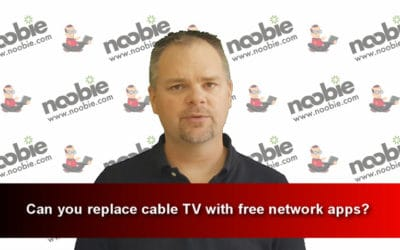 Can you replace cable TV with free network apps?