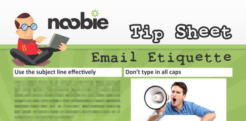 Tip Sheet: Email Etiquette