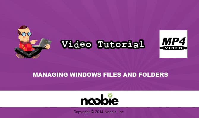 Managing Windows Files and Folders