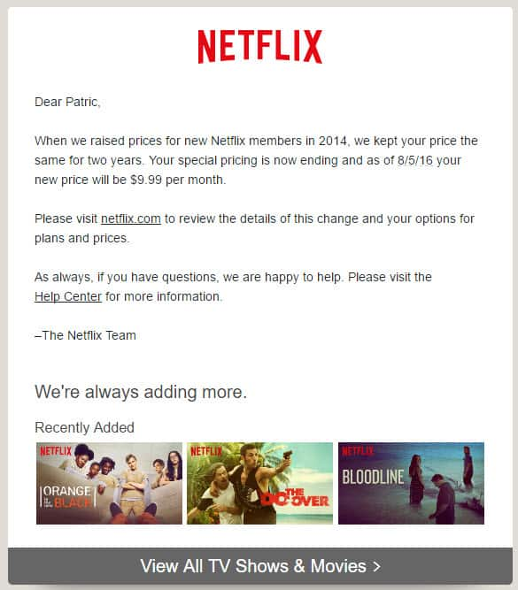 Is a Netflix price increase in your future?