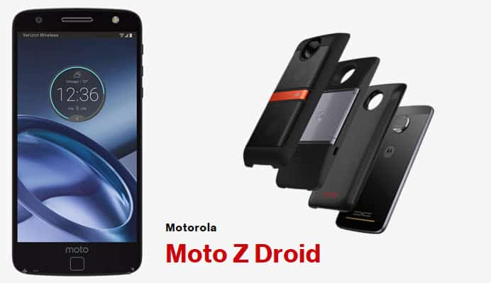 Moto Z Droid: Snap on the features you want with Moto Mods