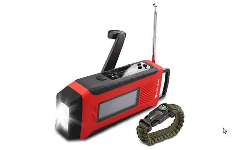 A handheld weather radio that does it all!