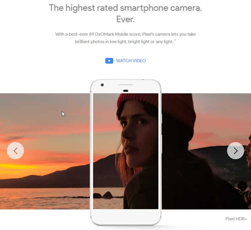 Pixel: The highest rated smartphone camera