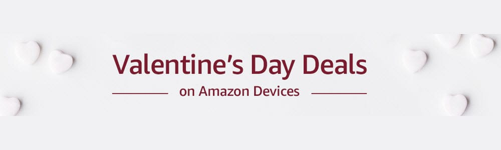 Amazon Device Valentine's Day Sale
