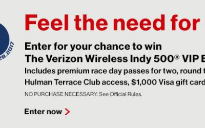 Verizon Wireless Indy 500 VIP Experience