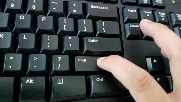 Shift + Delete | 15 Useful Windows Keyboard Shortcuts