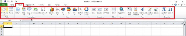 Insert Tab | How to Use Microsoft Excel for First Timers | Easy Comprehensive Guide