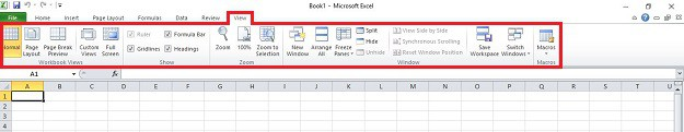 View Tab | How to Use Microsoft Excel for First Timers | Easy Comprehensive Guide | how to use microsoft excel formulas | how to use microsoft excel to calculate