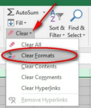 Experiment and Clear Formatting | Formatting Cells in Excel For A Better Understanding Of Information