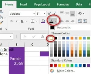Fill Color and Font Color | Excel Formatting Cells For A Better Understanding Of Information
