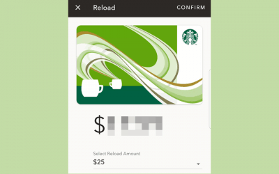 Using technology at Starbucks… because I can