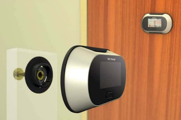 Brinno PHV132512 Digital PeepHole Viewer | 9 Best Automatic Alarm Systems To Protect Your Family | fire alarm system | types of fire alarm systems | fire alarm detector