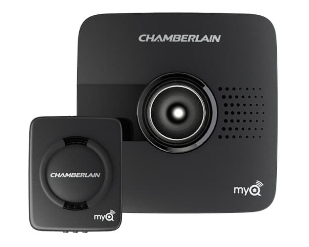 Chamberlain MYQ-G0201 MyQ-Garage | 9 Best Automatic Alarm Systems To Protect Your Family | types of fire alarm systems | fire alarm detector