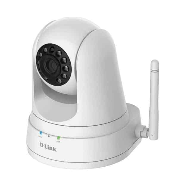 D-Link Pan & Tilt Wi-Fi Baby Camera | 9 Best Automatic Alarm Systems To Protect Your Family | fire alarm system | types of fire alarm systems