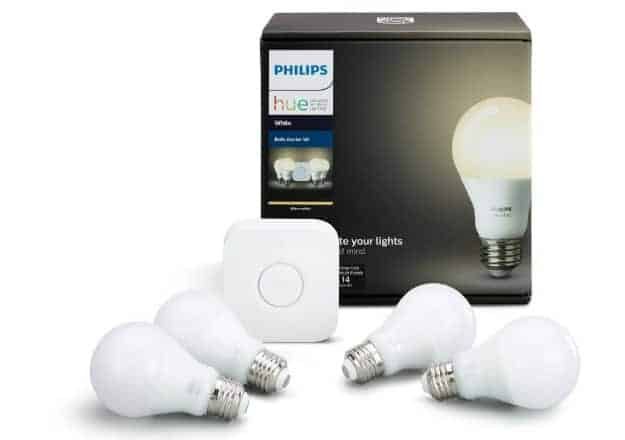 Smart Lighting System: Philips Hue | 7 Budget-Friendly Smart Home Gadgets Perfect As Gifts | Internet of things home devices