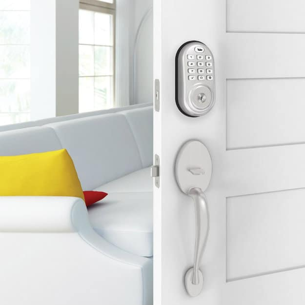 Door Security: Yale Push Button Electronic Deadbolt | What Is Zigbee Home Automation & How It Works