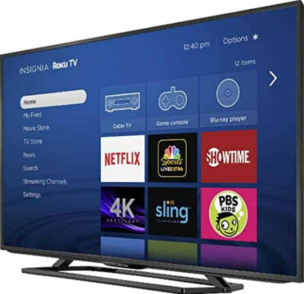 Insignia Roku TV | Smart Home Gadgets Perfect As Gifts For Holiday Season | home gadgets