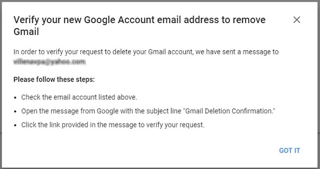 Open the Email from Google and Click the Deletion Link | How To Delete A Gmail Account | 13 Easy Steps