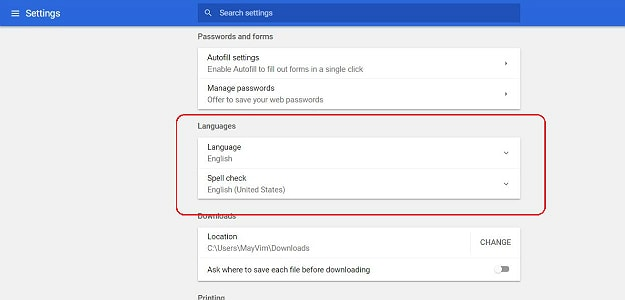 Choose the Language | How To Change Language In Google Chrome | 6 Easy Steps
